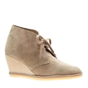 J.Crew MacAlister Suede Wedge Boots
